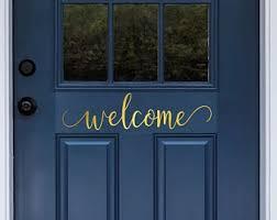 Door Decal Etsy
