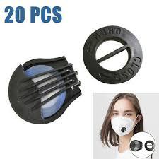 20pcs face air filter breathing valve