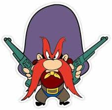 Yosemite Sam Cartoon Vinyl Decal Sticker Wall Sizes Ebay