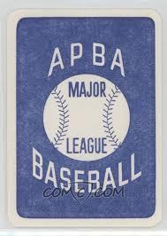 1980 APBA Baseball 1916 Season - [Base] #IVOL - Ivy Olson