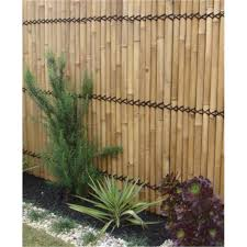 Lattice Makers 1800 X 900mm Yellow Bamboo Raft Screen Bunnings Warehouse