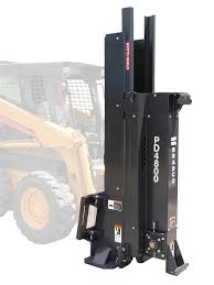 Bradco Skid Steer Skidsteer Hydraulic Post Driver Pd4800 48 Stroke 42 Strokes Per Minute