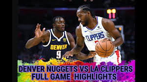 Los Angeles Clippers vs Denver Nuggets FULL GAME 1 Highlights | NBA  Playoffs Semifinals Sep 3/2020 - YouTube