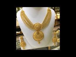 gold choker necklaces arabian designs