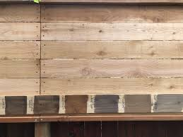 Selecting The Perfect Neutral Stain Color For A Cedar Fence Rain And Pine