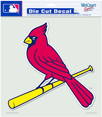 Amazon Com Mlb St Louis Cardinals 8 By 8 Inch Diecut Colored Decal Sports Fan Decals Sports Outdoors
