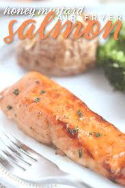 Air Fryer Honey Mustard Salmon Recipe ...