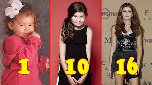 Addison Riecke from 1 to 16 Years Old 2020 - Teen Star - YouTube