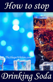 how to stop drinking soda the easy way