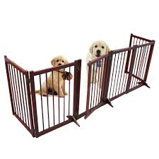 Buy Freestanding Wooden Pet Gate 6 Panel Folding Wooden Fence Dog Puppy Gate For Indoor Hall Doorway Stairs Fits Small Medium Animals In Cheap Price On Alibaba Com