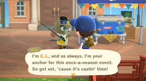 Animal Crossing New Horizons Fishing ...