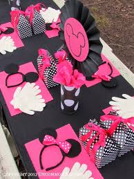 diy beautiful minnie mouse party