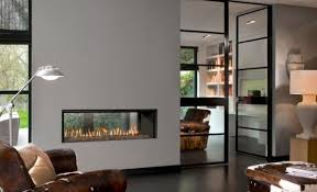 double sided tunnel gas fires