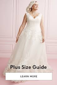 plus size wedding dresses bridal