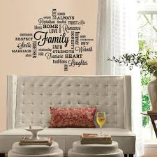 Roommates Peel And Stick Decor Wall Decals Family Quotes 34 Pieces Walmart Com Walmart Com