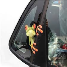 3d Peep Frog Funny Car Stickers Truck Window Decal Graphics Sticker Green 12 X 14 Cm You Can Find O Car Stickers Funny Popular Car Stickers Car Decals Vinyl