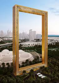 stunning new landmark dubai frame to