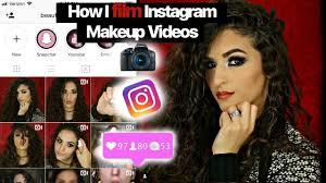 film insram makeup beauty videos