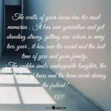 the walls of your house h quotes writings by ompriya behl
