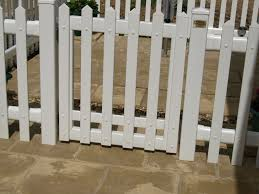 Fensys Upvc White Plastic Picket Fence Gate Plastic Picket Fence Easy Fence Fence Art
