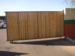 Cedar Fence Slide Gate On Wheels Wood Fence Gates Fence Gate Design Driveway Gate Diy