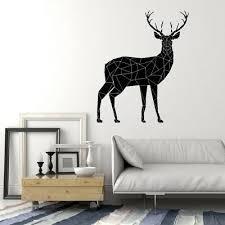 Wall Decal Quote Deer Tracks Hunting Vinyl Sticker Boys Room Nursery Decor Kk874