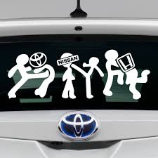 Decal I Beat Toyota Nissan And Honda Buy Vinyl Decals For Car Or Interior Decal Factory Stickerpro Different Colors And Sizes Is Avalable Free World Wide Delivery