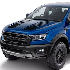 Car Decals Hood Stripe Gradient Racing Graphic Vinyl Car Stickers Custom Fit For Ford Ranger T6 T7 T8 2015 2016 2017 2018 2019 Car Stickers Aliexpress