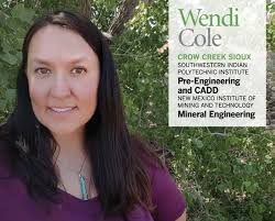 """BureauIndianEdu on Twitter: """"Wendi Cole,Crow Creek Sioux Tribal member &  SIPI graduate,tells her inspirational story in Winds of Change magazine  https://t.co/0Ghdhe4lDP… https://t.co/yNZofrUVKQ"""""""