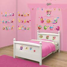 Walltastic Shopkins Children S Room Decor Kit 86 Repositionable Wall Stickers 5060107044227 Ebay