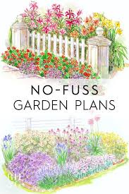 15 no fuss gardens plans to try in your