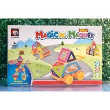 Đồ chơi nam châm sáng tạo ghép hình Magical magnet - Chính hãng Xinbida an  toàn cho bé