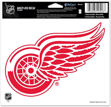 Amazon Com Nhl Detroit Red Wings Multi Use Colored Decal 5 X 6 Sports Fan Decals Sports Outdoors