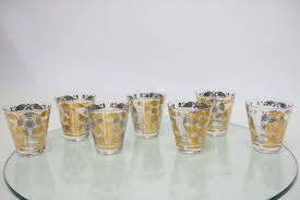 cocktail glasses by georges briard