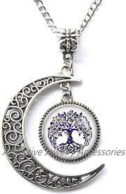 inspiring tree of life pendant necklace
