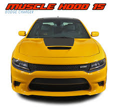 Muscle Hood 15 Dodge Charger Stripes Charger Decals Charger Vinyl Graphics
