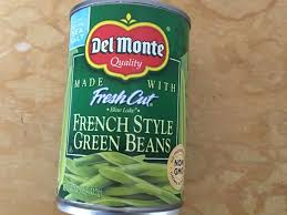 french style green beans nutrition