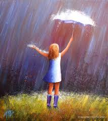 rainy day painting by dima dmitriev