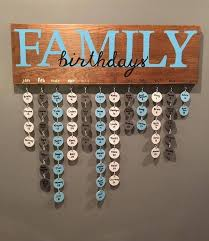 family birthday board home crafts