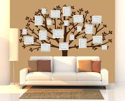 Family Tree Wall Decal Large Tree Decals Photo Memories Tree Stickers Available In White Decorazioni