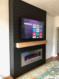 diy electric fireplace build