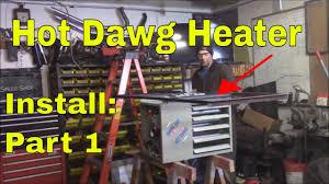 hot dawg 60 000 btu heater install