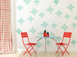 Mid Century Modern Star Wall Decals Wall Star Graphics