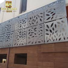 Decorative Aluminum Sheet Metal Fence Metal Solid Panel For Garden View Fence Metal Solid Panel Keenhai Product Details From Foshan Keenhai Metal Products Co Ltd On Alibaba Com