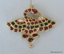 gold diamond ruby pendant necklace