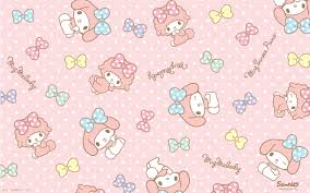 my melody wallpaper on hipwallpaper