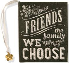 friends the family we choose mini book jax berman