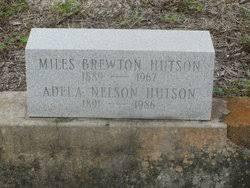 Miles Brewton Hutson (1889-1967) - Find A Grave Memorial