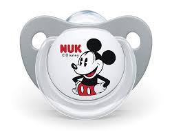 Amazon.com : NUK 10176213 Disney Mickey Mouse Trend Line Pacifier ...
