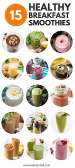 healthy breakfast smoothies 20 of the